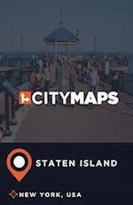 City Maps Staten Island New York, USA