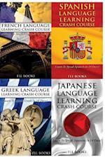 French Language Learning Crash Course + Spanish Language Learn + Greek Language Learning Crash Course + Japanese Language Learning Crash Course
