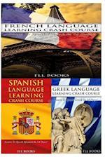 French Language Learning Crash Course + Spanish Language Learning Crash Course +