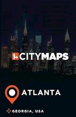 City Maps Atlanta Georgia, USA