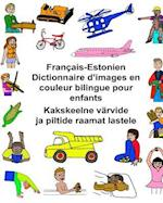Francais-Estonien Dictionnaire D'Images En Couleur Bilingue Pour Enfants