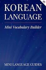 Korean Language Mini Vocabulary Builder