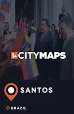 City Maps Santos Brazil