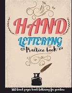 Hand Lettering Practice Book