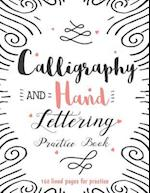Calligraphy & Hand Lettering Practice Book