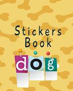 Stickers Book Dog