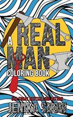 A Real Man Coloring Book