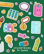 Sticker Books for Teachers