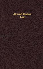Aircraft Engine Log (Logbook, Journal - 96 Pages, 5 X 8 Inches)