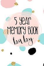 5 Year Memory Book Baby