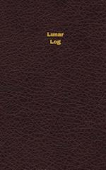 Lunar Log (Logbook, Journal - 96 Pages, 5 X 8 Inches)