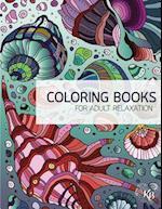 Wonderworld Underwater Zentangle Adult Coloring Book Vol.1
