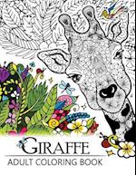 Giraffe Adult Coloring Book af Adult Coloring Books, Giraffe Adult Coloring Book
