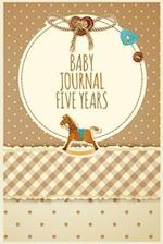 Baby Journal Five Years