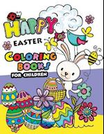Happy Easter Coloring Books for Children