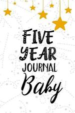 Five Year Journal Baby