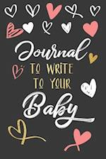 Journal to Write to Your Baby