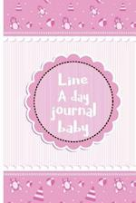 Line a Day Journal Baby