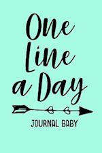 One Line a Day Journal Baby