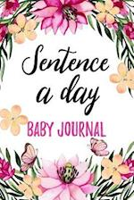 Sentence a Day Baby Journal