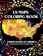 Us Map Coloring Book