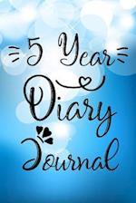 5 Year Diary Journal
