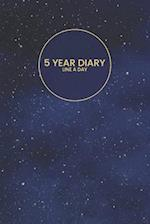 5 Year Diary Line a Day
