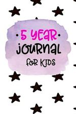 5 Year Journal for Kids
