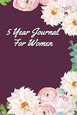 5 Year Journal for Women