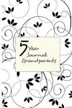 5 Year Journal Grandparents