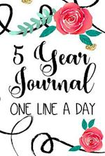 5 Year Journal One Line a Day