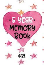 5 Year Memory Book Girl
