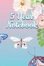 5 Year Notebook