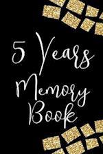 5 Years Memory Book