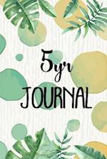 5 Yr Journal