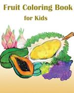 Fruit Coloring Book for Kids