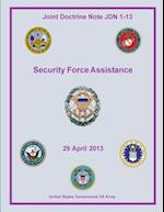 Joint Doctrine Note Jdn 1-13 Security Force Assistance 29 April 2013