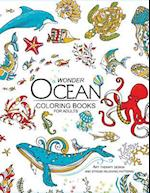 Wonder Ocean Coloring Books for Adults
