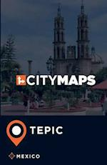 City Maps Tepic Mexico