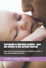 Parentalite Et Education Positive