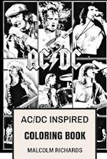 AC/DC Inspired Coloring Book