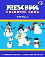 Preschool Coloring Book - Vol.3