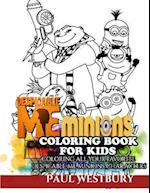 Despicable Me Minions Coloring Book for Kids