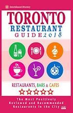 Toronto Restaurant Guide 2018