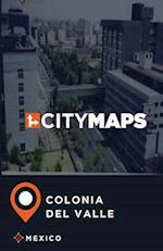 City Maps Colonia del Valle Mexico