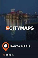 City Maps Santa Maria Brazil