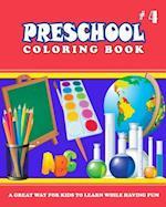 Preschool Coloring Book - Vol.4