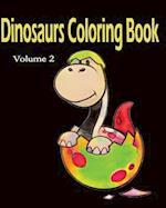Dinosaur Color Book