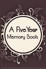 A Five Year Memory Book