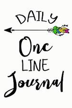 Daily One Line Journal